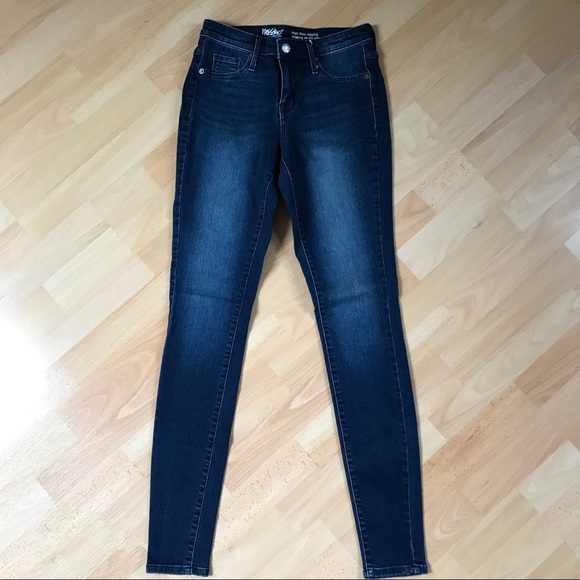 Mossimo Supply Co. Denim - Mossimo Dark Rinse High Rise Jegging/Jean